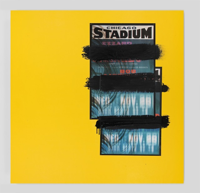 , 'Chicago Stadium Yellow,' 2014, Metro Pictures