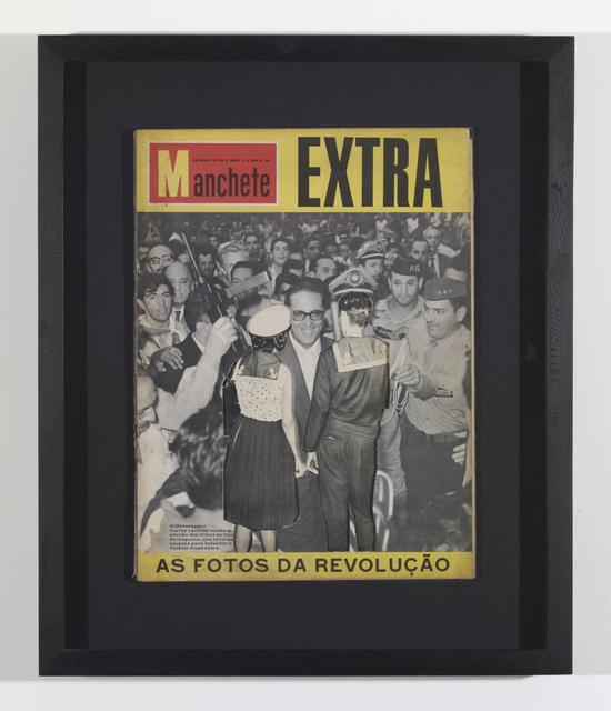 , 'Uncover - Mancheta -11 de abril de 1964 (rio de janeiro),' 2013, In Situ - Fabienne Leclerc