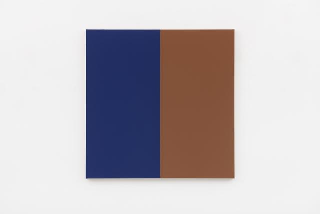 Steven Aalders, 'Two Halves (Blue, Brown)', 2018, Walter Storms Galerie