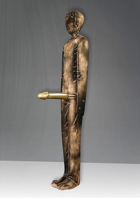 Ivan Lardschneider, 'Habs aus Gold', 2018, Sculpture, Basswood & gold leaf, GALERIE BENJAMIN ECK