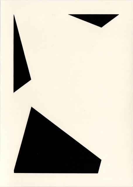 , 'Photogram #14,' 2012, Sous Les Etoiles Gallery