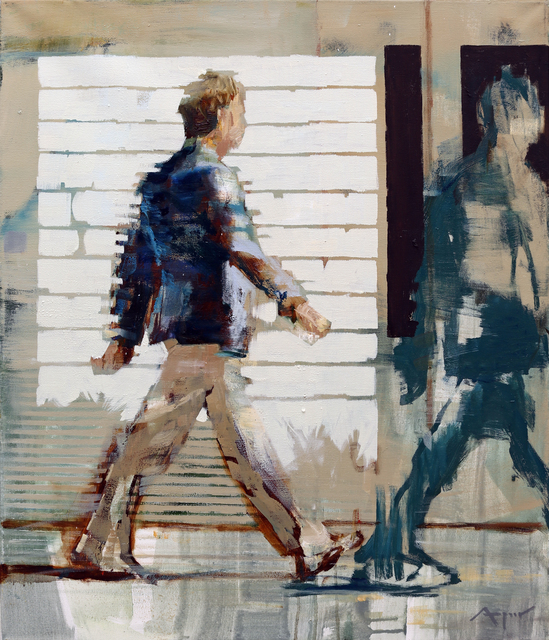, 'Study for Walking Man,' 2016, HOHMANN