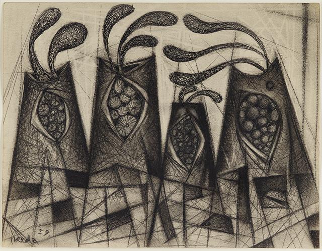 , 'Town Series,' 1959, Fergus McCaffrey