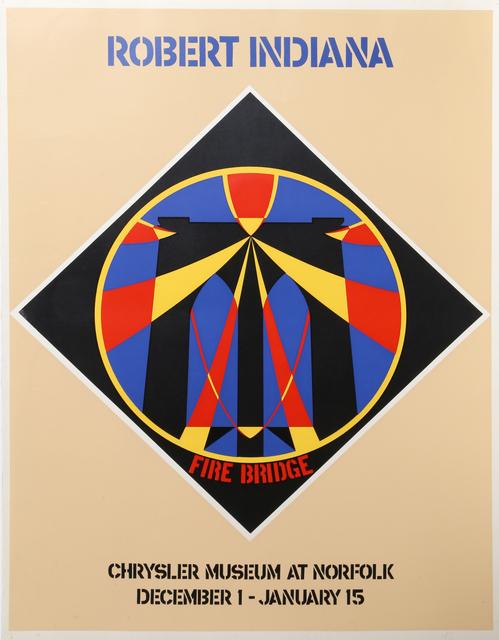 Robert Indiana, 'Fire Bridge: Chrysler Museum at Norfolk, December 1 - January 15', ca. 1965, RoGallery