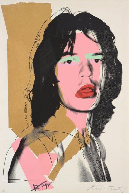 Andy Warhol, 'Mick Jagger II.143', 1975, OSME Fine Art