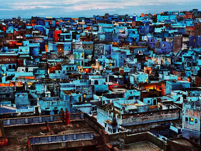 , 'THE BLUE CITY, INDIA, 2010,' 2010, Huxley-Parlour
