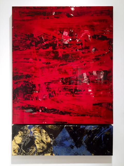 , 'Wall Vessel 2 (Red Sky) ,' 2016, Galerie Olivier Waltman | Waltman Ortega Fine Art