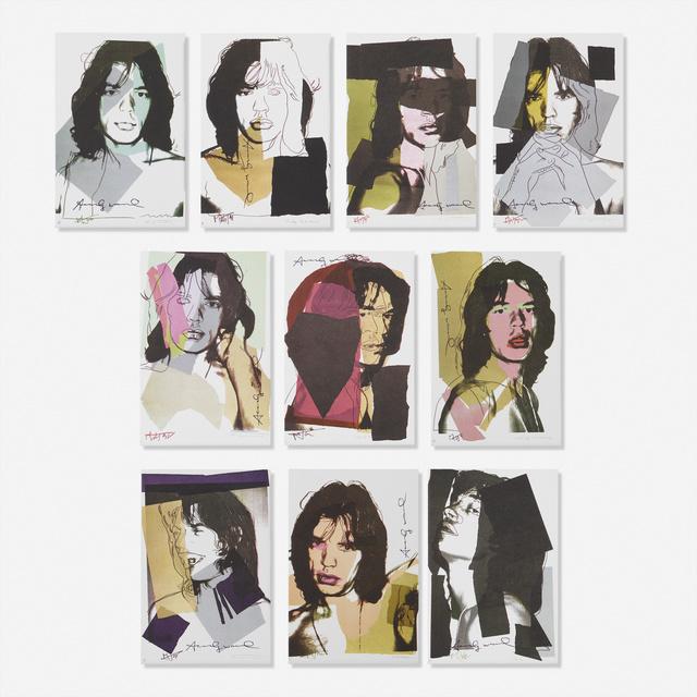 Andy Warhol, 'Mick Jagger', 1975, Rago/Wright