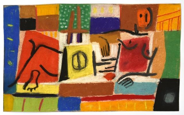 Carlos Carnero, 'Untitled', ca. 1956, Painting, Tempera on cardboard, Galería de las Misiones