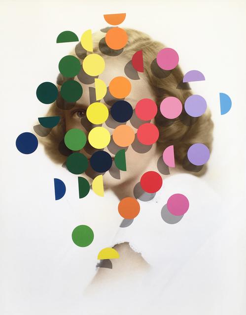 Julie Cockburn, 'Dapple (Rainbow Woman) ', 2019, Print, Screenprint on Giclee print on Hahnemühle Rag, bo.lee gallery