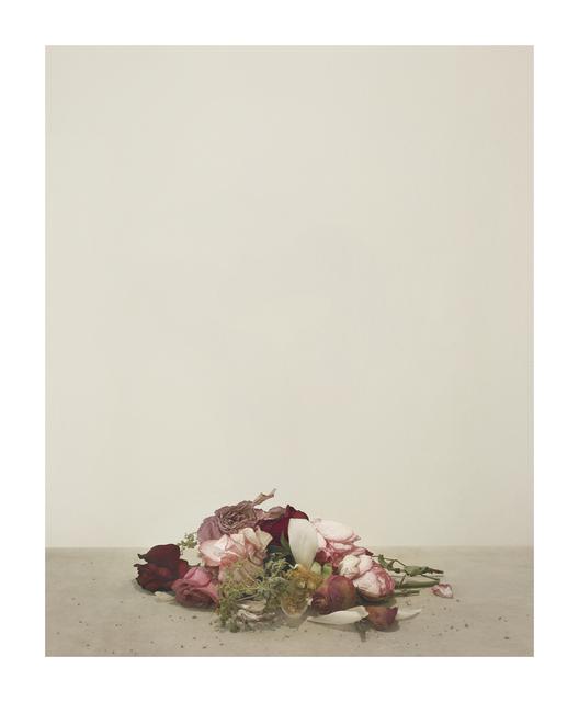 casper sejersen, 'Fallen Flowers ', 2019, Photography, Archival pigment print on canton palatine paper, Cob