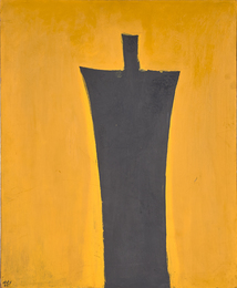 Untitled (Figure on Yellow)