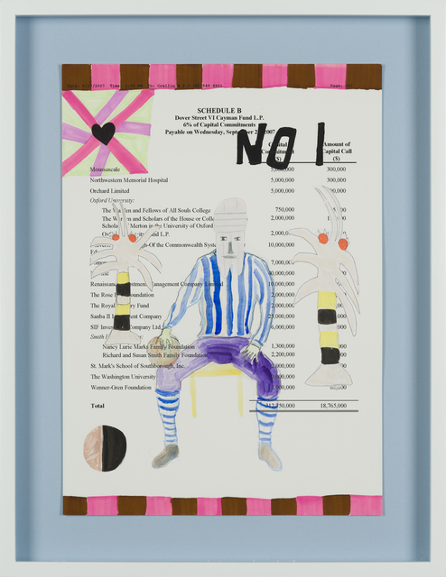 Carla Busuttil, 'No. 1 Paradise Man', 2019, Drawing, Collage or other Work on Paper, Mixed Media on Paper, Goodman Gallery