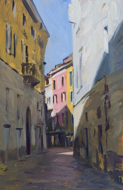 , 'Street in Varese,' 2014, Grenning Gallery