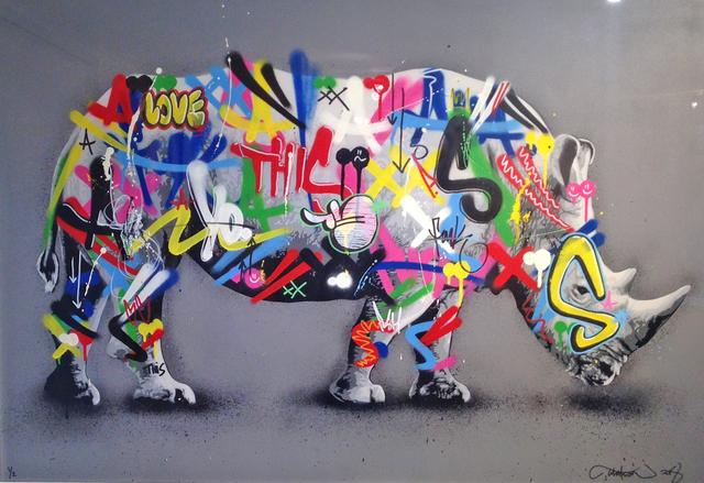 , 'Rhino,' 2018, NextStreet Gallery