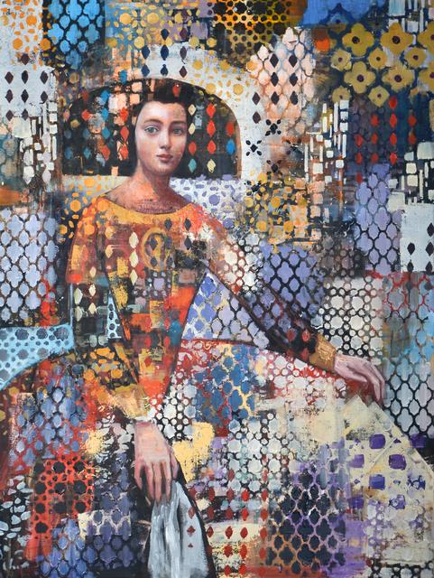 Rimi Yang, 'Princess in a Mirror', 2019, Blue Rain Gallery