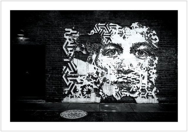 , 'VHILS - Detroit 2015,' 2017, Black Book Gallery