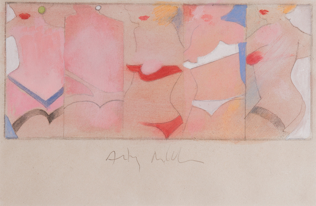 , 'Taking Five,' 1962, The Mayor Gallery