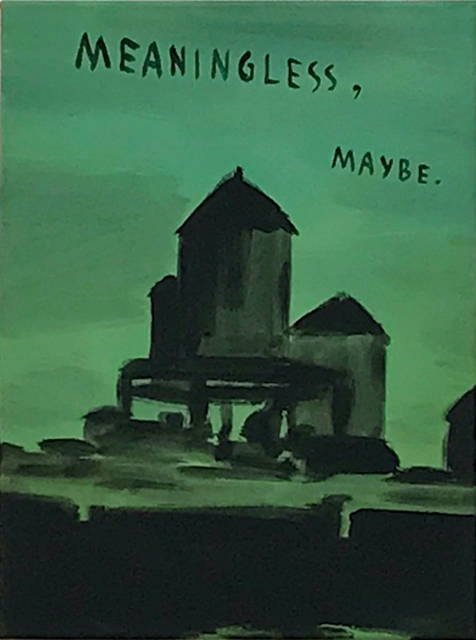 Andreas Leikauf, 'Meaningless maybe', 2005, Painting, Acrylic on canvas, Gagliardi e Domke