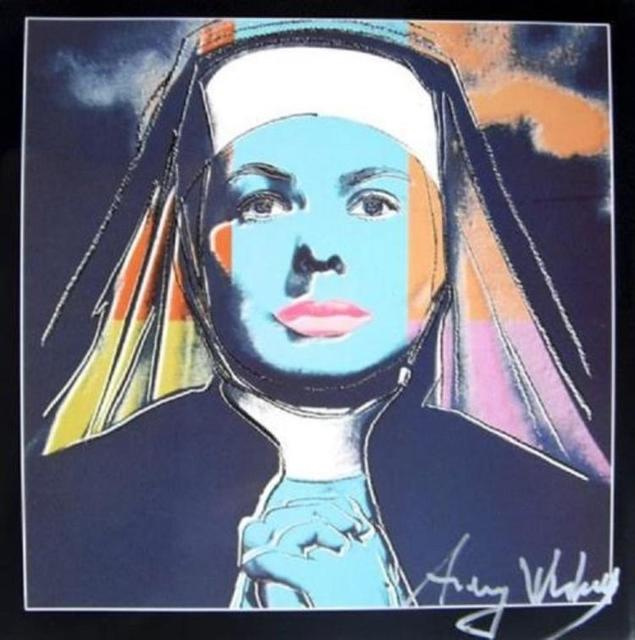 Andy Warhol, 'Ingrid Bergman as Nun', 1983, Leviton Fine Art