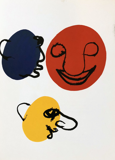 Alexander Calder, 'Alexander Calder Derrière le Miroir lithograph', ca. 1971, Lot 180