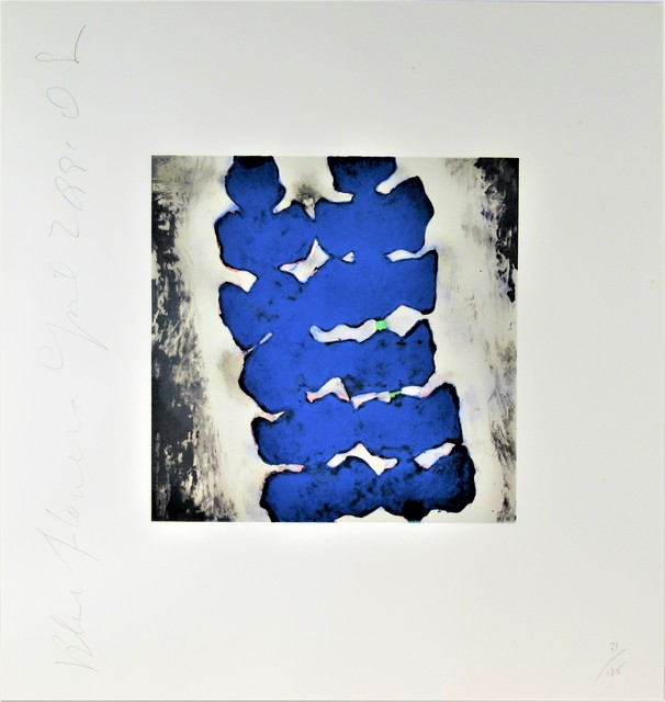 Donald Sultan, 'Blue Flower', 1991, Joseph Grossman Fine Art Gallery