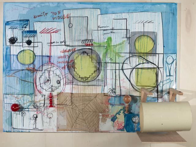 , 'La maison de POF's,' 2016-2017, Galerie Nathalie Obadia