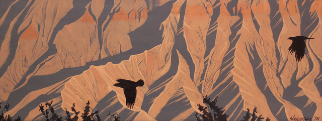 Mark Knudsen, 'Caineville With Ravens', 2014, Phillips Gallery