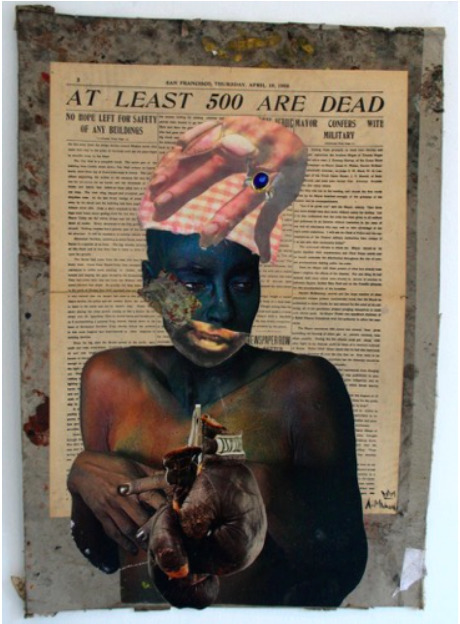 , 'At Least 500 Are Dead,' 2016, HAZARD Gallery