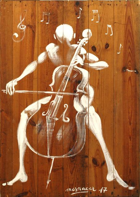 , 'Le Violoncelliste Réf.23,' 2017, Galerie Art Jingle
