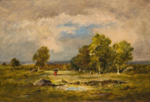 , 'Clairiere et Mare aux Viperes, Foret de Fontainebleau,' , Daphne Alazraki Fine Art