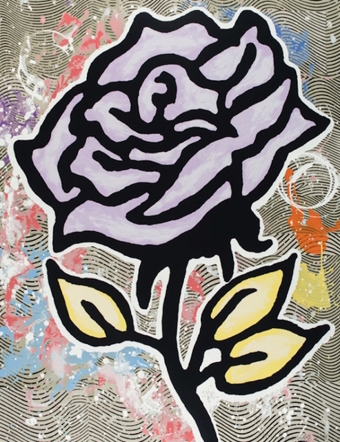 Donald Baechler, 'Violet Rose', 2015, ARC Fine Art LLC