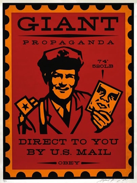 Shepard Fairey (OBEY), 'Mail Man', 2000, Gregg Shienbaum Fine Art