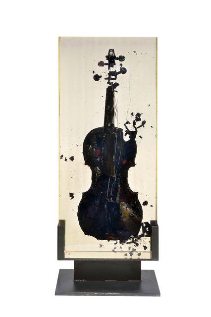 , 'Inclusion Violin - Brule,' 1969, Galeries Bartoux Singapore