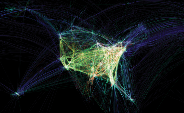 , 'Flight Patterns,' 2009, Victoria and Albert Museum (V&A)