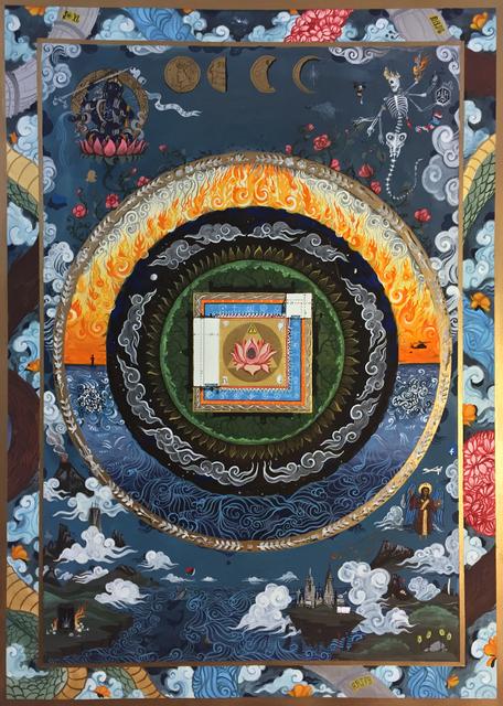 , 'Mandala #31,' 2016, Avenue 12 Gallery