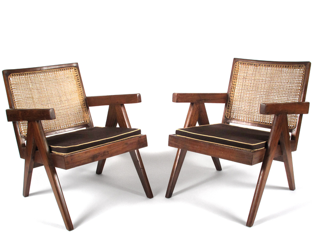 , 'Lounge Chairs from Chandigarh,' 1952-1956, Patrick Parrish Gallery