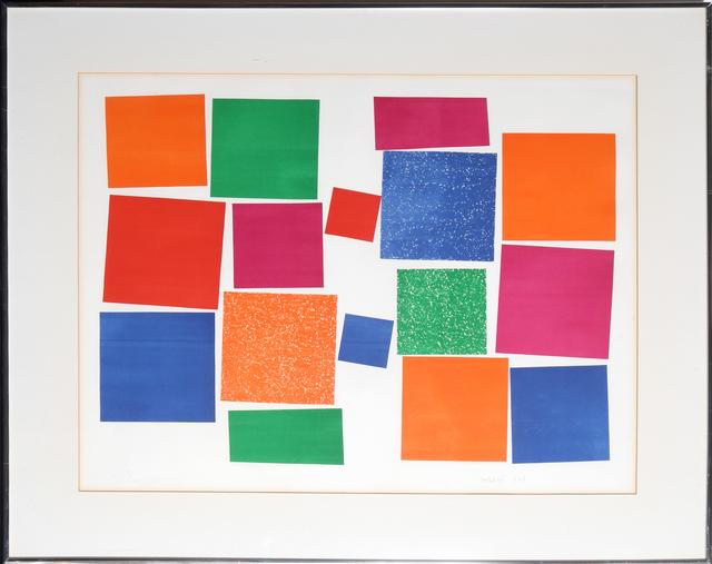 Piero D'orazio, 'Logos et Cares', 1967, RoGallery