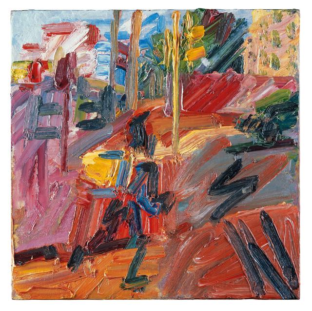 Frank Auerbach, 'Hampstead Road, High Summer', 2010, Tate Britain