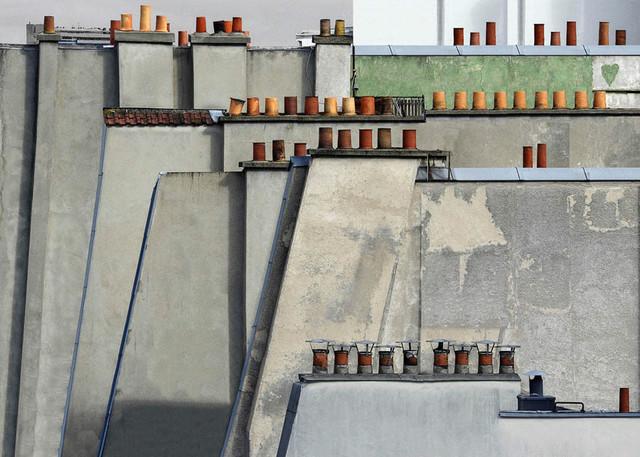 Michael Wolf, 'Paris Rooftops 4', 2014, Bau-Xi Gallery