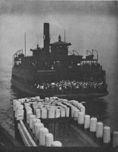 Alfred Stieglitz, 'The Ferry Boat (1910)', 1911, Photography, Photogravure, Robert Mann Gallery