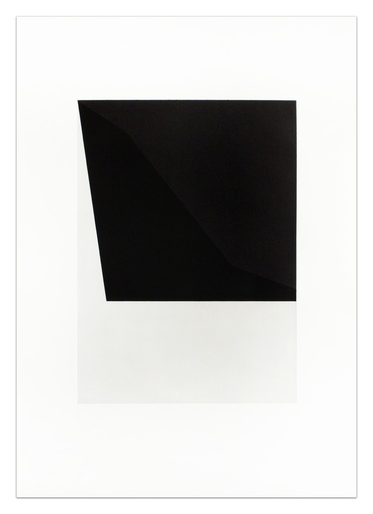 """Ellsworth Kelly """"Concorde III (State) from The Concorde Series"""", 1982"""