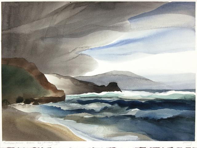 , 'Puukoae Point, Maui,' 1991, Wallace Galleries