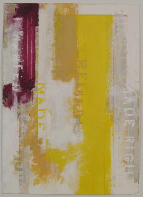 , 'Rachael's Fragments 2,' 2018, Adah Rose Gallery