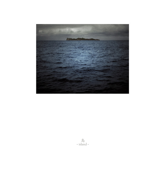 Osamu James Nakagawa, 'island', 2001-2009, Photography, Archival Inkjet Print with Hand Letter Pressing, Pictura Gallery