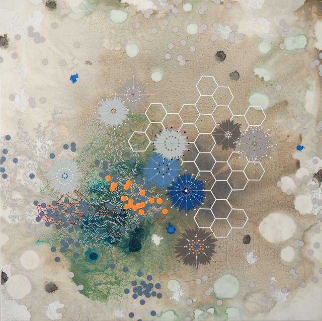 , 'Flourish,' 2018, Muriel Guépin Gallery