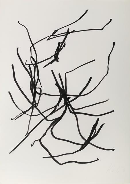 , '63/040,' 1963, Galerie Utermann