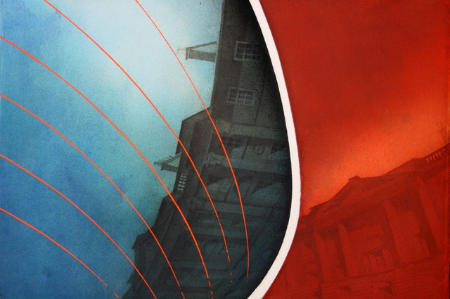 , 'Rear Window, Charlotte Square,' 2017, The Scottish Gallery