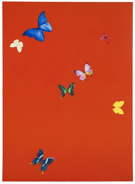 Damien Hirst, 'Your Feel', 2015, Reuben Colley Fine Art