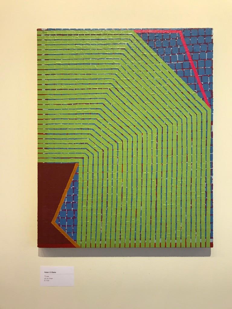 Helen G Blake / Three / oil on linen / 45 x 36cm